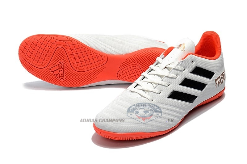 Adidas Predator Tango 18.4 IC Blanc Orange